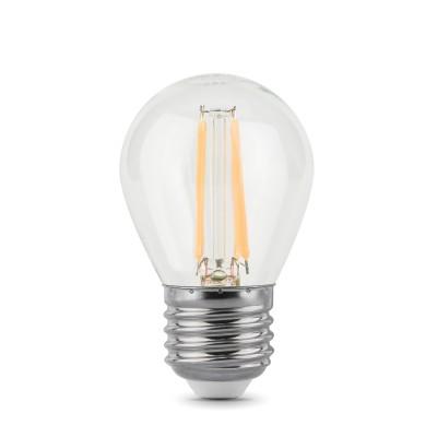 Лампа Gauss LED Filament Globe E27 5W 2700Kснятые с производства светильники<br><br>