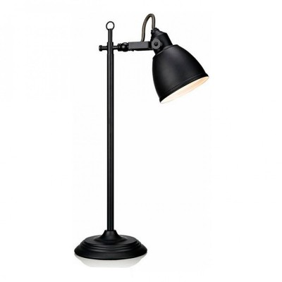 Светильник Markslojd 105817Классические<br>Настольная лампа – это не просто источник дополнительного освещения, но и оригинальный элемент декора. Его можно установить в спальне, гостиной, кабинете и других комнатах. Интернет-магазин «Светодом» предлагает настольные лампы разных стилей по доступным ценам. Благодаря большому ассортименту Вы обязательно найдете в нашем каталоге именно ту модель, которую искали.   Настольная лампа MarkSlojd 105817 – прекрасный вариант для завершения интерьера. Ее можно включить одновременно с люстрой для более яркого освещения или без нее для создания уютной атмосферы, настраивающей на отдых.   Купить настольную лампу MarkSlojd 105817 Вы можете с помощью виртуальной «Корзины» или по контактным номерам, указанным на сайте.<br><br>Тип лампы: Накаливания / энергосбережения / светодиодная<br>Тип цоколя: E14<br>Количество ламп: 1<br>Ширина, мм: 320<br>MAX мощность ламп, Вт: 40<br>Длина, мм: 165<br>Высота, мм: 600<br>Цвет арматуры: черный