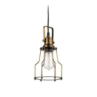 Светильник подвесной Markslojd 105932 GARAGE Pendant 1L Antiqueодиночные подвесные светильники<br><br><br>Установка на натяжной потолок: Да<br>Крепление: Планка<br>Тип лампы: Накаливания / энергосбережения / светодиодная<br>Тип цоколя: E27<br>Цвет арматуры: бронзовый<br>Количество ламп: 1<br>Диаметр, мм мм: 145<br>Высота полная, мм: 1500<br>Поверхность арматуры: блестящая<br>Оттенок (цвет): бронза<br>MAX мощность ламп, Вт: 60