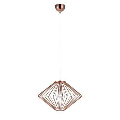 Светильник Markslojd 105945Одиночные<br><br><br>Тип лампы: Накаливания / энергосбережения / светодиодная<br>Тип цоколя: E27<br>Количество ламп: 1<br>MAX мощность ламп, Вт: 60<br>Диаметр, мм мм: 440<br>Высота, мм: 340 - 1840<br>Цвет арматуры: медный