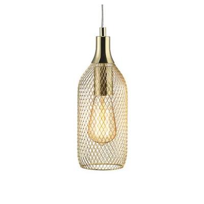 Светильник Markslojd 105973Одиночные<br><br><br>Тип лампы: Накаливания / энергосбережения / светодиодная<br>Тип цоколя: E27<br>Количество ламп: 1<br>MAX мощность ламп, Вт: 60<br>Диаметр, мм мм: 110<br>Высота, мм: 310 - 1810<br>Цвет арматуры: бронзовый