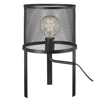 Светильник Markslojd 106055Лофт<br><br><br>Тип лампы: Накаливания / энергосбережения / светодиодная<br>Тип цоколя: E27<br>Количество ламп: 1<br>MAX мощность ламп, Вт: 60<br>Диаметр, мм мм: 250<br>Высота, мм: 400<br>Цвет арматуры: черный