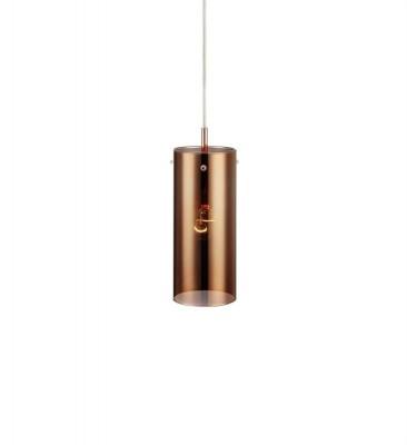 Светильник Markslojd 106068Одиночные<br><br><br>Тип лампы: Накаливания / энергосбережения / светодиодная<br>Тип цоколя: E14<br>Количество ламп: 1<br>MAX мощность ламп, Вт: 40<br>Диаметр, мм мм: 90<br>Высота, мм: 240 - 1740