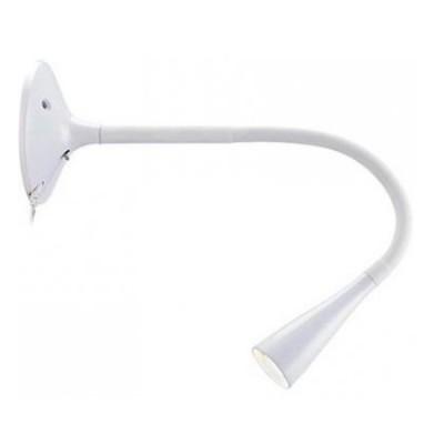 Светильник Markslojd 106097Гибкие<br><br><br>Тип лампы: LED<br>Тип цоколя: LED<br>MAX мощность ламп, Вт: 3.5<br>Диаметр, мм мм: 120<br>Длина, мм: 360<br>Цвет арматуры: белый