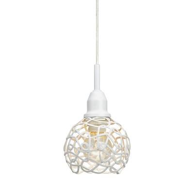 Светильник Markslojd 106113одиночные подвесные светильники<br><br><br>Тип лампы: Накаливания / энергосбережения / светодиодная<br>Тип цоколя: E14<br>Цвет арматуры: белый<br>Количество ламп: 1<br>Диаметр, мм мм: 100<br>Высота, мм: 156 - 1656<br>MAX мощность ламп, Вт: 40