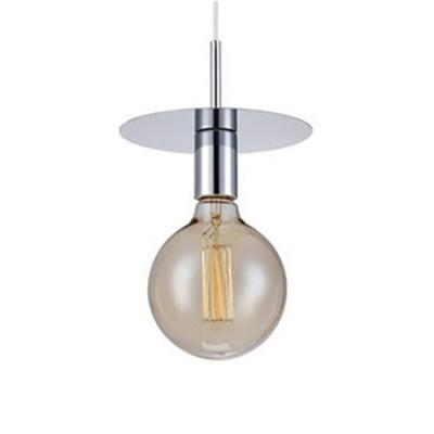 Светильник Markslojd 106149Одиночные<br><br><br>Тип лампы: Накаливания / энергосбережения / светодиодная<br>Тип цоколя: E27<br>Цвет арматуры: серебристый<br>Количество ламп: 1<br>Диаметр, мм мм: 180<br>Высота, мм: 150 - 1650<br>MAX мощность ламп, Вт: 60