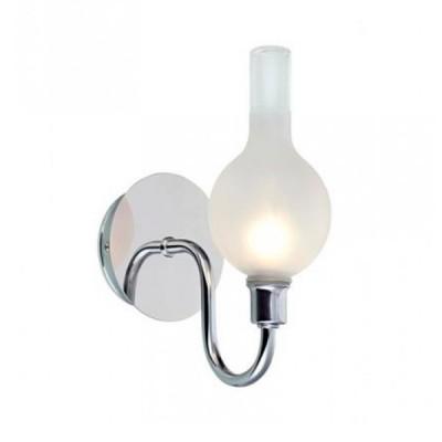 Светильник Markslojd 106379Рустика<br><br><br>Тип лампы: галогенная/LED<br>Тип цоколя: G9<br>Количество ламп: 1<br>Ширина, мм: 100<br>MAX мощность ламп, Вт: 18<br>Длина, мм: 160<br>Высота, мм: 210<br>Цвет арматуры: серебристый
