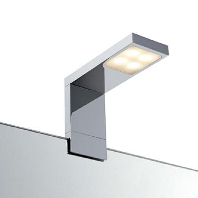 Светильник настенный Markslojd 106577 RENNES Wall ChromeБра хай тек стиля<br><br><br>Тип лампы: LED - светодиодная<br>Тип цоколя: LED, встроенные светодиоды<br>Цвет арматуры: серебристый<br>Количество ламп: 1<br>Ширина, мм: 50<br>Высота, мм: 130<br>Поверхность арматуры: глянцевая<br>Оттенок (цвет): серебристый<br>MAX мощность ламп, Вт: 4