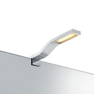 Светильник настенный Markslojd 106581 BOURGES Wall ChromeБра хай тек стиля<br><br><br>Тип лампы: LED - светодиодная<br>Тип цоколя: LED, встроенные светодиоды<br>Цвет арматуры: серебристый<br>Количество ламп: 1<br>Ширина, мм: 30<br>Высота полная, мм: 50<br>Поверхность арматуры: глянцевая<br>Оттенок (цвет): серебристый<br>MAX мощность ламп, Вт: 3
