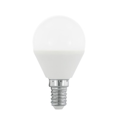 Eglo 10682 Лампа светодиодная диммируемая RGB P45, с пультом упр-я, 4W (E14), 3000K, 300lmДиммируемые<br><br><br>Цветовая t, К: 3000<br>Тип лампы: LED<br>Тип цоколя: E14<br>MAX мощность ламп, Вт: 4<br>Диаметр, мм мм: 45<br>Высота, мм: 80