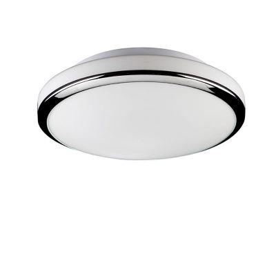 Светильник Colosseo 10702/2 BrunoКруглые<br>Круглые формы в интерьере универсальны: они лаконичны, смягчают пространство и обладают точным попаданием в хороший вкус. Это же касается и освещения. Обратите внимание на светильник Colosseo 10702/2, где гармонично сочетаются лёгкая геометрия, спокойный цвет матовой белизны в сочетании с голубовато-стальным оттенком самой конструкции. Стиль модерн и хай-тек здесь очень уместны. Если в первом случае лучше обратиться к пастельным оттенкам в обоях и фурнитуре, но не отказывать себе в благородном декоре, то ультрасовременный вариант не допустит ничего лишнего - только полутона и активное использование металла, стекла, пластика в меблировке. В любом случае светильник Colosseo 10702/2 – достойный выбор!<br><br>S освещ. до, м2: 10<br>Крепление: планка<br>Тип лампы: накаливания / энергосбережения / LED-светодиодная<br>Тип цоколя: E27<br>Количество ламп: 2<br>MAX мощность ламп, Вт: 75<br>Диаметр, мм мм: 330<br>Расстояние от стены, мм: 110<br>Высота, мм: 110<br>Цвет арматуры: серебристый