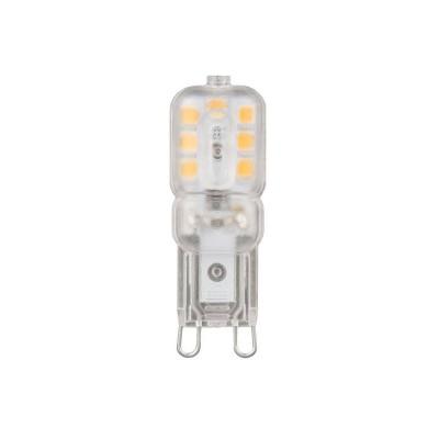 Лампа Gauss LED G9 AC220-240V 3W 2700K пластикКапсульные G9 220v<br><br><br>Тип цоколя: G9
