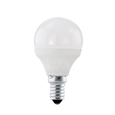EGLO ИС 10759 Лампа светодиодная P45, 4W (Е14), 4000K, 320lmСтандартный вид<br><br><br>Цветовая t, К: 4000<br>Тип лампы: LED<br>Тип цоколя: E14<br>MAX мощность ламп, Вт: 4<br>Диаметр, мм мм: 45<br>Высота, мм: 79