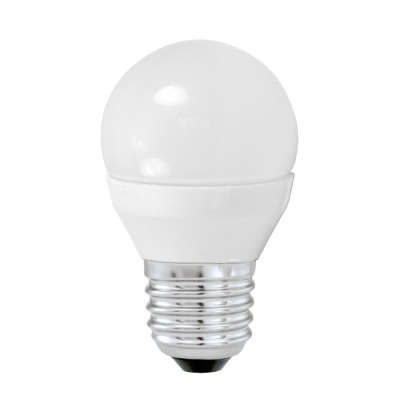 Eglo 10762 Лампа светодиодная G45, 4W (Е27), 3000K, 320lmСтандартный вид<br><br><br>Цветовая t, К: 3000<br>Тип лампы: LED<br>Тип цоколя: E27<br>Диаметр, мм мм: 45<br>Высота, мм: 79<br>MAX мощность ламп, Вт: 4