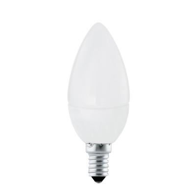 EGLO ИС 10766 Лампа светодиодная Свеча, 4W (E14), 4000K, 320lmВ виде свечи<br><br><br>Цветовая t, К: 4000<br>Тип лампы: LED<br>Тип цоколя: E14<br>MAX мощность ламп, Вт: 4<br>Диаметр, мм мм: 37<br>Высота, мм: 99
