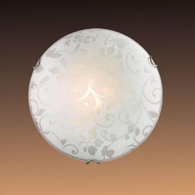 Настенно-потолочный светильник Сонекс 108 белый/бронзовый VUALEКруглые<br>Настенно-потолочные светильники – это универсальные осветительные варианты, которые подходят для вертикального и горизонтального монтажа. В интернет-магазине «Светодом» Вы можете приобрести подобные модели по выгодной стоимости. В нашем каталоге представлены как бюджетные варианты, так и эксклюзивные изделия от производителей, которые уже давно заслужили доверие дизайнеров и простых покупателей.  Настенно-потолочный светильник Сонекс 108 станет прекрасным дополнением к основному освещению. Благодаря качественному исполнению и применению современных технологий при производстве эта модель будет радовать Вас своим привлекательным внешним видом долгое время. Приобрести настенно-потолочный светильник Сонекс 108 можно, находясь в любой точке России.<br><br>S освещ. до, м2: 6<br>Тип лампы: накаливания / энергосбережения / LED-светодиодная<br>Тип цоколя: E27<br>Количество ламп: 1<br>MAX мощность ламп, Вт: 100<br>Диаметр, мм мм: 300<br>Цвет арматуры: бронзовый