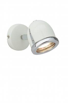 Светильник Brilliant G10910/75 Cinda LEDОдиночные<br>Светильники-споты – это оригинальные изделия с современным дизайном. Они позволяют не ограничивать свою фантазию при выборе освещения для интерьера. Такие модели обеспечивают достаточно качественный свет. Благодаря компактным размерам Вы можете использовать несколько спотов для одного помещения.  Интернет-магазин «Светодом» предлагает необычный светильник-спот Brilliant G10910/75 по привлекательной цене. Эта модель станет отличным дополнением к люстре, выполненной в том же стиле. Перед оформлением заказа изучите характеристики изделия.  Купить светильник-спот Brilliant G10910/75 в нашем онлайн-магазине Вы можете либо с помощью формы на сайте, либо по указанным выше телефонам. Обратите внимание, что у нас склады не только в Москве и Екатеринбурге, но и других городах России.<br><br>S освещ. до, м2: 1<br>Тип лампы: галогенная / LED-светодиодная<br>Тип цоколя: GU10<br>Цвет арматуры: серебристый<br>Количество ламп: 1<br>Ширина, мм: 90<br>Расстояние от стены, мм: 140<br>Высота, мм: 75<br>MAX мощность ламп, Вт: 2.5