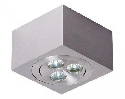 Lucide 10968/23/12 ARTYСветильники даунлайты<br><br><br>Тип лампы: LED - светодиодная<br>Тип цоколя: LED<br>Цвет арматуры: никель<br>Количество ламп: 3<br>Ширина, мм: 80<br>Длина, мм: 80<br>Высота, мм: 77<br>MAX мощность ламп, Вт: 1