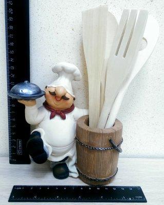 XCE35495 Подставка с кухонными приборами ПоварПодарки и сувениры<br><br>