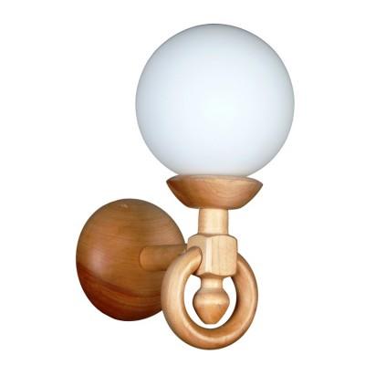 Аврора Селена 11004-1B Светильник настенный браРустика<br><br><br>Тип лампы: Накаливания / энергосбережения / светодиодная<br>Тип цоколя: E27<br>Количество ламп: 1<br>Ширина, мм: 150<br>MAX мощность ламп, Вт: 60<br>Расстояние от стены, мм: 200<br>Высота, мм: 290<br>Оттенок (цвет): каркас из дерева цвета сосна, выдувной плафон белого цвета