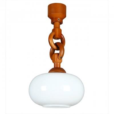 Аврора Селена 11006-1L ЛюстраПодвесные<br>Важными и отличительными особенностями модели светильника Аврора 11006-1L является каркас из дерева цвета дуб, выдувной абажур белого цвета с габаритными размерами D220*H560мм. Хотелось бы отметить российскую сборку в г. Самара с отечественными комплектующими.<br><br>Установка на натяжной потолок: Да<br>S освещ. до, м2: 1<br>Крепление: Крюк<br>Тип лампы: Накаливания / энергосбережения / светодиодная<br>Тип цоколя: E27<br>Количество ламп: 1<br>MAX мощность ламп, Вт: 60<br>Диаметр, мм мм: 220<br>Размеры: D220*H560<br>Высота, мм: 560