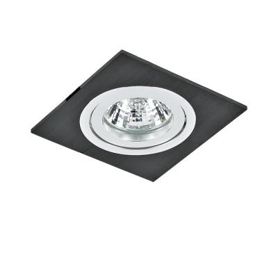 Lightstar BANALE 11007 СветильникКвадратные<br>Встраиваемые светильники – популярное осветительное оборудование, которое можно использовать в качестве основного источника или в дополнение к люстре. Они позволяют создать нужную атмосферу атмосферу и привнести в интерьер уют и комфорт. <br> Интернет-магазин «Светодом» предлагает стильный встраиваемый светильник Lightstar 11007. Данная модель достаточно универсальна, поэтому подойдет практически под любой интерьер. Перед покупкой не забудьте ознакомиться с техническими параметрами, чтобы узнать тип цоколя, площадь освещения и другие важные характеристики. <br> Приобрести встраиваемый светильник Lightstar 11007 в нашем онлайн-магазине Вы можете либо с помощью «Корзины», либо по контактным номерам. Мы развозим заказы по Москве, Екатеринбургу и остальным российским городам.<br><br>Тип лампы: галогенная/LED<br>Тип цоколя: gu5.3<br>Цвет арматуры: венге / серебристый<br>Ширина, мм: 90<br>Диаметр врезного отверстия, мм: 75<br>Длина, мм: 90<br>Высота, мм: 25<br>MAX мощность ламп, Вт: 50