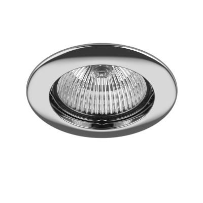 Lightstar LEGA 11014 СветильникКруглые<br>Встраиваемые светильники – популярное осветительное оборудование, которое можно использовать в качестве основного источника или в дополнение к люстре. Они позволяют создать нужную атмосферу атмосферу и привнести в интерьер уют и комфорт. <br> Интернет-магазин «Светодом» предлагает стильный встраиваемый светильник Lightstar 11014. Данная модель достаточно универсальна, поэтому подойдет практически под любой интерьер. Перед покупкой не забудьте ознакомиться с техническими параметрами, чтобы узнать тип цоколя, площадь освещения и другие важные характеристики. <br> Приобрести встраиваемый светильник Lightstar 11014 в нашем онлайн-магазине Вы можете либо с помощью «Корзины», либо по контактным номерам. Мы развозим заказы по Москве, Екатеринбургу и остальным российским городам.<br><br>Тип лампы: галогенная/LED<br>Тип цоколя: MR16 / gu5.3 / GU10<br>Цвет арматуры: серебристый<br>Количество ламп: 1<br>Диаметр, мм мм: 75<br>Размеры: Диаметр  врезного  отверстия<br>MAX мощность ламп, Вт: 50