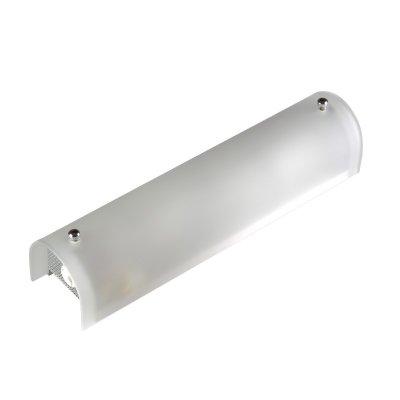 Светильник Colosseo 11015/2 Brentaдлинные настенно-потолочные светильники<br>Настенно потолочный светильник Colosseo (Колоссео) 11015/2 подходит как для установки в вертикальном положении - на стены, так и для установки в горизонтальном - на потолок. Для установки настенно потолочных светильников на натяжной потолок необходимо использовать светодиодные лампы LED, которые экономнее ламп Ильича (накаливания) в 10 раз, выделяют мало тепла и не дадут расплавиться Вашему потолку.<br><br>S освещ. до, м2: 5<br>Крепление: планка<br>Тип лампы: накаливания / энергосбережения / LED-светодиодная<br>Тип цоколя: E14<br>Цвет арматуры: серебристый<br>Количество ламп: 2<br>Ширина, мм: 350<br>Расстояние от стены, мм: 75<br>Высота, мм: 75<br>MAX мощность ламп, Вт: 40