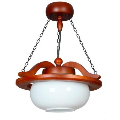 Аврора Рондо 11023-1L ЛюстраПодвесные<br>Важными и отличительными особенностями модели светильника Аврора 11023-1L является каркас из дерева цвета дуб, выдувной абажур белого цвета с габаритными размерами D400*H340мм. Хотелось бы отметить российскую сборку в г. Самара с отечественными комплектующими.<br><br>Установка на натяжной потолок: Да<br>S освещ. до, м2: 1<br>Крепление: Крюк<br>Тип лампы: Накаливания / энергосбережения / светодиодная<br>Тип цоколя: E27<br>Количество ламп: 1<br>MAX мощность ламп, Вт: 60<br>Размеры: D400*H340