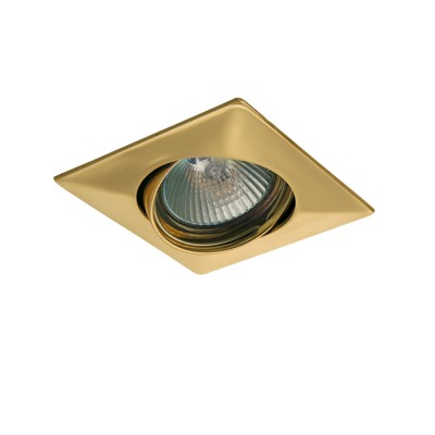 Lightstar LEGA 11032 СветильникКвадратные<br>Встраиваемые светильники – популярное осветительное оборудование, которое можно использовать в качестве основного источника или в дополнение к люстре. Они позволяют создать нужную атмосферу атмосферу и привнести в интерьер уют и комфорт. <br> Интернет-магазин «Светодом» предлагает стильный встраиваемый светильник Lightstar 11032. Данная модель достаточно универсальна, поэтому подойдет практически под любой интерьер. Перед покупкой не забудьте ознакомиться с техническими параметрами, чтобы узнать тип цоколя, площадь освещения и другие важные характеристики. <br> Приобрести встраиваемый светильник Lightstar 11032 в нашем онлайн-магазине Вы можете либо с помощью «Корзины», либо по контактным номерам. Мы развозим заказы по Москве, Екатеринбургу и остальным российским городам.<br><br>Тип лампы: галогенная/LED<br>Тип цоколя: MR16 / gu5.3 / GU10<br>Количество ламп: 1<br>MAX мощность ламп, Вт: 50<br>Размеры: Диаметр  врезного  отверстия<br>Цвет арматуры: Золотой