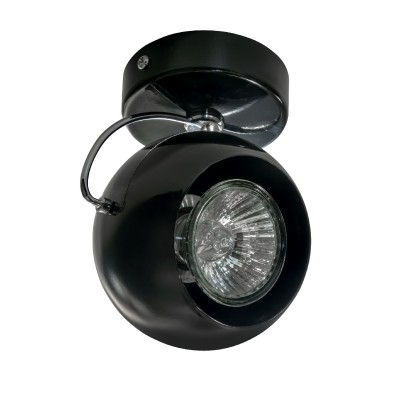 Светильник Lightstar 110577 OCCHIOОдиночные<br><br><br>S освещ. до, м2: 3<br>Тип лампы: галогенная/LED<br>Тип цоколя: GU10<br>Количество ламп: 1<br>Диаметр, мм мм: 90<br>Высота, мм: 110<br>MAX мощность ламп, Вт: 50