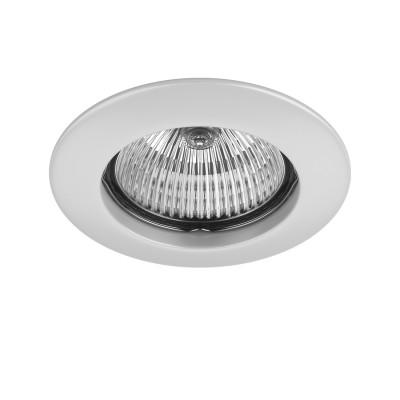 Светильник Lightstar 11070 TESOТочечные светильники круглые<br>Встраиваемые светильники – популярное осветительное оборудование, которое можно использовать в качестве основного источника или в дополнение к люстре. Они позволяют создать нужную атмосферу атмосферу и привнести в интерьер уют и комфорт. <br>Точечный светильник Teso fix от Lightstar это сама лаконичность! Благодаря базовому металлическому цвету и лапидарному дизайну, декоративный светильник безупречно впишется в любую цветовую гамму интерьера. Сферическая форма  отражателя формирует концентрированный световой поток, при этом освещение не требует больших затрат энергии из-за применения галогенных или LED-ламп. А возможность их замены значительно продлит срок службы точечного светильника.<br> Приобрести встраиваемый светильник Lightstar 11070 в нашем онлайн-магазине Вы можете либо с помощью «Корзины», либо по контактным номерам. Мы развозим заказы по Москве, Екатеринбургу и остальным российским городам.<br><br>Тип лампы: галогенная/LED<br>Тип цоколя: MR16 / gu5.3 / GU10<br>Цвет арматуры: белый<br>Количество ламп: 1<br>Диаметр, мм мм: 80<br>Размеры: Диаметр  врезного  отверстия<br>MAX мощность ламп, Вт: 50