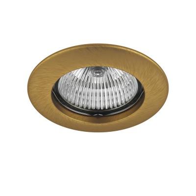 Lightstar TESO 11073 СветильникКруглые<br>Встраиваемые светильники – популярное осветительное оборудование, которое можно использовать в качестве основного источника или в дополнение к люстре. Они позволяют создать нужную атмосферу атмосферу и привнести в интерьер уют и комфорт. <br> Интернет-магазин «Светодом» предлагает стильный встраиваемый светильник Lightstar 11073. Данная модель достаточно универсальна, поэтому подойдет практически под любой интерьер. Перед покупкой не забудьте ознакомиться с техническими параметрами, чтобы узнать тип цоколя, площадь освещения и другие важные характеристики. <br> Приобрести встраиваемый светильник Lightstar 11073 в нашем онлайн-магазине Вы можете либо с помощью «Корзины», либо по контактным номерам. Мы развозим заказы по Москве, Екатеринбургу и остальным российским городам.<br><br>Тип лампы: галогенная/LED<br>Тип цоколя: MR16 / gu5.3 / GU10<br>Количество ламп: 1<br>MAX мощность ламп, Вт: 50<br>Диаметр, мм мм: 80<br>Размеры: Диаметр  врезного  отверстия<br>Цвет арматуры: латунь