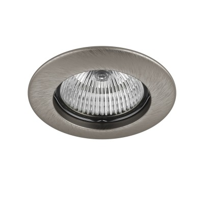 Lightstar TESO 11075 СветильникКруглые<br>Встраиваемые светильники – популярное осветительное оборудование, которое можно использовать в качестве основного источника или в дополнение к люстре. Они позволяют создать нужную атмосферу атмосферу и привнести в интерьер уют и комфорт. <br> Интернет-магазин «Светодом» предлагает стильный встраиваемый светильник Lightstar 11075. Данная модель достаточно универсальна, поэтому подойдет практически под любой интерьер. Перед покупкой не забудьте ознакомиться с техническими параметрами, чтобы узнать тип цоколя, площадь освещения и другие важные характеристики. <br> Приобрести встраиваемый светильник Lightstar 11075 в нашем онлайн-магазине Вы можете либо с помощью «Корзины», либо по контактным номерам. Мы развозим заказы по Москве, Екатеринбургу и остальным российским городам.<br><br>Тип лампы: галогенная/LED<br>Тип цоколя: MR16 / gu5.3 / GU10<br>Количество ламп: 1<br>MAX мощность ламп, Вт: 50<br>Диаметр, мм мм: 80<br>Размеры: Диаметр  врезного  отверстия<br>Цвет арматуры: серебристый