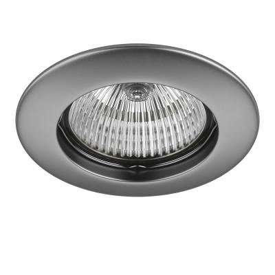 Lightstar TESO 11079 СветильникКруглые<br>Встраиваемые светильники – популярное осветительное оборудование, которое можно использовать в качестве основного источника или в дополнение к люстре. Они позволяют создать нужную атмосферу атмосферу и привнести в интерьер уют и комфорт. <br> Интернет-магазин «Светодом» предлагает стильный встраиваемый светильник Lightstar 11079. Данная модель достаточно универсальна, поэтому подойдет практически под любой интерьер. Перед покупкой не забудьте ознакомиться с техническими параметрами, чтобы узнать тип цоколя, площадь освещения и другие важные характеристики. <br> Приобрести встраиваемый светильник Lightstar 11079 в нашем онлайн-магазине Вы можете либо с помощью «Корзины», либо по контактным номерам. Мы развозим заказы по Москве, Екатеринбургу и остальным российским городам.<br><br>Тип лампы: галогенная/LED<br>Тип цоколя: MR16 / gu5.3 / GU10<br>Количество ламп: 1<br>MAX мощность ламп, Вт: 50<br>Диаметр, мм мм: 80<br>Размеры: Диаметр  врезного  отверстия<br>Цвет арматуры: серебристый