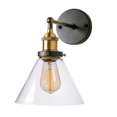 Настенная бра Loft it 1123Wбра в стиле лофт<br><br><br>Тип лампы: Накаливания / энергосбережения / светодиодная<br>Тип цоколя: E27<br>Количество ламп: 1<br>MAX мощность ламп, Вт: 60