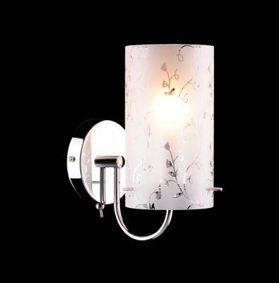 Светильник бра Евросвет 1129/1B хромМодерн<br><br><br>Тип лампы: накаливания / энергосбережения / LED-светодиодная<br>Тип цоколя: E27<br>Количество ламп: 1/1<br>Ширина, мм: 170<br>MAX мощность ламп, Вт: 60<br>Длина, мм: 100<br>Высота, мм: 230<br>Цвет арматуры: серебристый