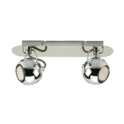 Светильник Colosseo 11401/2Двойные<br>Светильники-споты – это оригинальные изделия с современным дизайном. Они позволяют не ограничивать свою фантазию при выборе освещения для интерьера. Такие модели обеспечивают достаточно качественный свет. Благодаря компактным размерам Вы можете использовать несколько спотов для одного помещения. <br>Интернет-магазин «Светодом» предлагает необычный светильник-спот Colosseo 11401/2 по привлекательной цене. Эта модель станет отличным дополнением к люстре, выполненной в том же стиле. Перед оформлением заказа изучите характеристики изделия. <br>Купить светильник-спот Colosseo 11401/2 в нашем онлайн-магазине Вы можете либо с помощью формы на сайте, либо по указанным выше телефонам. Обратите внимание, что у нас склады не только в Москве и Екатеринбурге, но и других городах России.<br><br>S освещ. до, м2: 6<br>Крепление: планка<br>Тип лампы: LED - светодиодная<br>Тип цоколя: GU10<br>Цвет арматуры: серебристый<br>Количество ламп: 2<br>Ширина, мм: 300<br>Расстояние от стены, мм: 130<br>Высота, мм: 110<br>MAX мощность ламп, Вт: 35