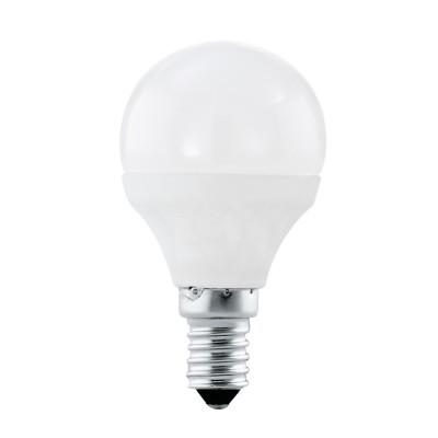 Eglo 11419 Лампа светодиодная P45, 4W (Е14), 3000K, 320lmСтандартный вид<br><br><br>Цветовая t, К: 3000<br>Тип лампы: LED<br>Тип цоколя: E14<br>MAX мощность ламп, Вт: 4<br>Диаметр, мм мм: 45<br>Высота, мм: 79