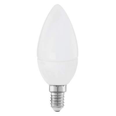 Eglo 11421 Лампа светодиодная СвечаВ виде свечи<br>В интернет-магазине «Светодом» можно купить не только люстры и светильники, но и лампочки. В нашем каталоге представлены светодиодные, галогенные, энергосберегающие модели и лампы накаливания. В ассортименте имеются изделия разной мощности, поэтому у нас Вы сможете приобрести все необходимое для освещения.   Лампа Eglo 11421 Свеча обеспечит отличное качество освещения. При покупке ознакомьтесь с параметрами в разделе «Характеристики», чтобы не ошибиться в выборе. Там же указано, для каких осветительных приборов Вы можете использовать лампу Eglo 11421 СвечаEglo 11421 Свеча.   Для оформления покупки воспользуйтесь «Корзиной». При наличии вопросов Вы можете позвонить нашим менеджерам по одному из контактных номеров. Мы доставляем заказы в Москву, Екатеринбург и другие города России.<br><br>Цветовая t, К: WW - теплый белый 2700-3000 К<br>Тип лампы: LED - светодиодная<br>Тип цоколя: E14<br>MAX мощность ламп, Вт: 4