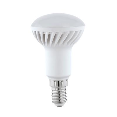 Eglo 11431 Лампа светодиодная R50, 5W (E14), 3000K, 400lmЗеркальные E27, E14<br><br><br>Цветовая t, К: 3000<br>Тип лампы: LED<br>Тип цоколя: E14<br>MAX мощность ламп, Вт: 5