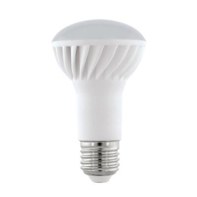 Eglo 11432 Лампа светодиодная R63, 7W (E27), 3000K, 500lmЗеркальные светодиодные лампы<br><br><br>Цветовая t, К: WW - теплый белый 2700-3000 К<br>Тип лампы: Накаливания / энергосбережения / светодиодная<br>Тип цоколя: E27<br>MAX мощность ламп, Вт: 7