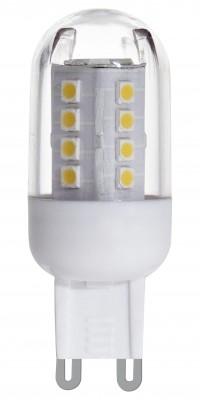 Eglo 11461 Лампа светодиоднаяКапсульные G9 220v<br><br><br>Тип товара: Лампа светодиодная<br>Цветовая t, К: WW - теплый белый 2700-3000 К<br>Тип лампы: LED - светодиодная<br>Тип цоколя: G9<br>MAX мощность ламп, Вт: 2,5<br>Диаметр, мм мм: 20<br>Длина, мм: 58