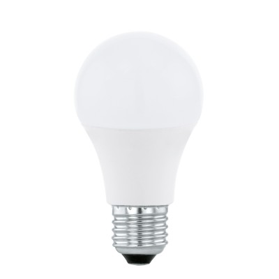 Eglo 11479 Лампа светодиодная A60, 5,5W (Е27),4000K, 470lmСтандартный вид<br><br><br>Цветовая t, К: 4000<br>Тип лампы: LED<br>Тип цоколя: E27<br>MAX мощность ламп, Вт: 5.5<br>Диаметр, мм мм: 60<br>Высота, мм: 109