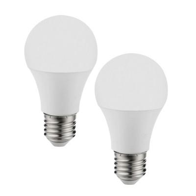 Eglo 11485 Лампа светодиодная A60, 2х9,5W (Е27), 4000K, 806lm, 2 шт. в комплектеСветодиодные лампы LED с цоколем E27<br><br><br>Цветовая t, К: CW - холодный белый 4000 К<br>Тип лампы: LED<br>Тип цоколя: E27<br>Диаметр, мм мм: 60<br>Высота, мм: 115<br>MAX мощность ламп, Вт: 10