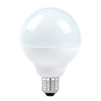Eglo 11489 Лампа светодиодная G90, 12W (Е27), 4000K, 1055lmВ виде шара<br><br><br>Цветовая t, К: 4000<br>Тип лампы: LED<br>Тип цоколя: E27<br>MAX мощность ламп, Вт: 12<br>Диаметр, мм мм: 90<br>Высота, мм: 127