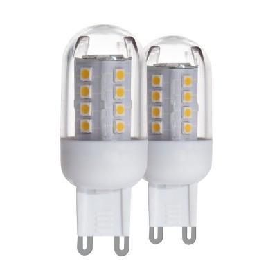 Eglo 11513 Лампа светодиодная, 2х2,5W (G9), 3000K, 300lm, 2шт. в комплекте, 300lmКапсульные G9 220v<br>В интернет-магазине «Светодом» можно купить не только люстры и светильники, но и лампочки. В нашем каталоге представлены светодиодные, галогенные, энергосберегающие модели и лампы накаливания. В ассортименте имеются изделия разной мощности, поэтому у нас Вы сможете приобрести все необходимое для освещения.   Лампа Eglo 11513 светодиодная, 2х2,5W (G9), 3000K, 300lm, 2шт. в комплекте, 300lm обеспечит отличное качество освещения. При покупке ознакомьтесь с параметрами в разделе «Характеристики», чтобы не ошибиться в выборе. Там же указано, для каких осветительных приборов Вы можете использовать лампу Eglo 11513 светодиодная, 2х2,5W (G9), 3000K, 300lm, 2шт. в комплекте, 300lmEglo 11513 светодиодная, 2х2,5W (G9), 3000K, 300lm, 2шт. в комплекте, 300lm.   Для оформления покупки воспользуйтесь «Корзиной». При наличии вопросов Вы можете позвонить нашим менеджерам по одному из контактных номеров. Мы доставляем заказы в Москву, Екатеринбург и другие города России.<br><br>Цветовая t, К: 3000<br>Тип лампы: LED<br>Тип цоколя: G9<br>Диаметр, мм мм: 20<br>Высота, мм: 58<br>MAX мощность ламп, Вт: 2.5