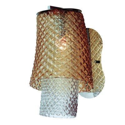 Светильник настенный Divinare 1152/02 AP-1 MiracoloМодерн<br><br><br>Тип цоколя: E27<br>Количество ламп: 1<br>MAX мощность ламп, Вт: 100<br>Диаметр, мм мм: 240<br>Длина, мм: 310<br>Высота, мм: 410<br>Цвет арматуры: серебристый