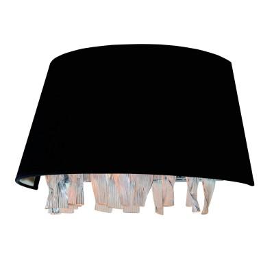 Светильник настенный Divinare 1153/01 AP-2 PluviaХрустальные<br><br><br>Тип лампы: Накаливания / энергосбережения / светодиодная<br>Тип цоколя: E14<br>Количество ламп: 2<br>MAX мощность ламп, Вт: 40<br>Диаметр, мм мм: 400<br>Длина, мм: 200<br>Высота, мм: 210<br>Цвет арматуры: серебристый