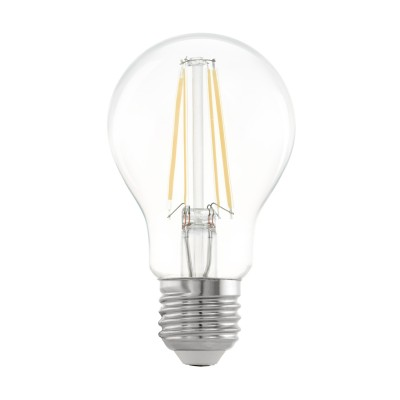 Eglo 11534 Лампа светодиодная филаментная A60, 6,5W (E27), 2700K, 810lm, прозрачный